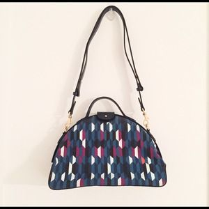 Kate Spade Saturday Canvas Leather Handbag