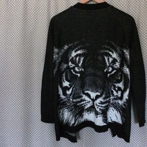 Nollie Sweaters - Woven Tiger Cardigan