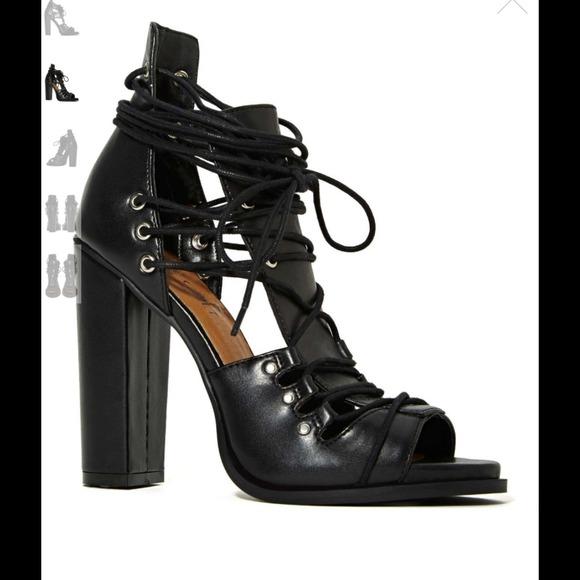 Nasty Gal Shoes - Vamp heel #403