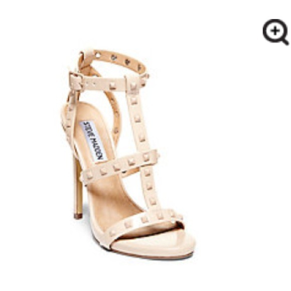 64% off Steve Madden Shoes - ⭐️SALE!! Nude Studded Steve Madden ...
