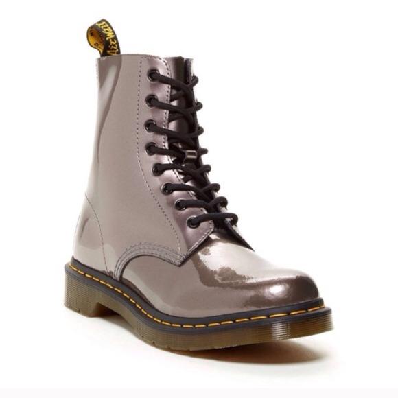 Dr. Martens Boots - Dr Martens Pascal Boots in Pewter (UK 6 US8) a9209de43