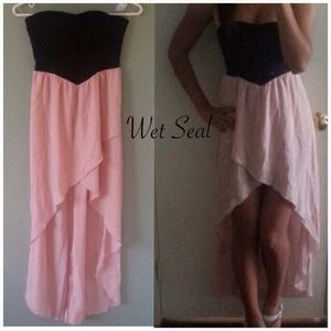 NWT { WET SEAL } The Sweetheart Dress in Pink
