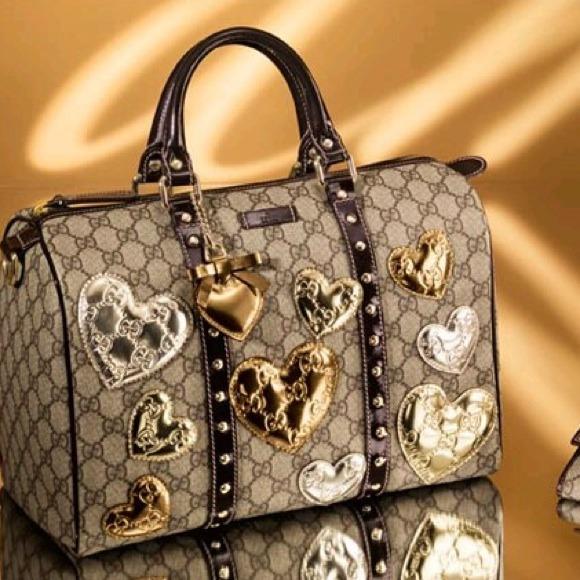 f7edb2e5c447 Gucci Handbags - 💕HP💕 Authentic Gucci joy boston bag with hearts