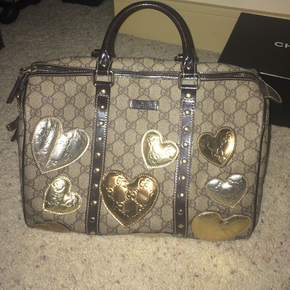 Gucci Bag With Hearts