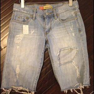 a24222a943 Jeans | Kim Kardashian Boyfriend Shorts | Poshmark