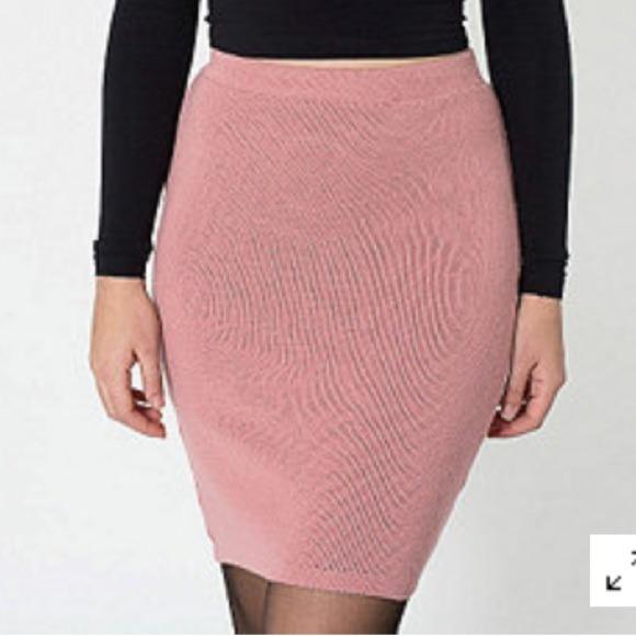 c85e1d46f American Apparel Skirts | Sweater Knit Pencil Skirt | Poshmark