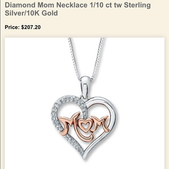4fe3665c8 Kay Jewelers Jewelry | New Mom Diamond Pendant | Poshmark