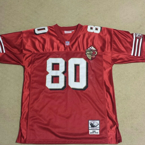new concept 2e73a b03a5 Jerry Rice 49ers throwback jersey size 3xl