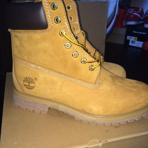 Svart Timberland Støvler Størrelse 12 PbOUJOx