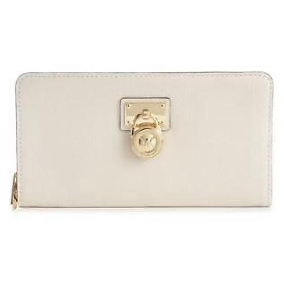 96faed9026fd9d Michael Kors Bags   Vanilla Hamilton Wallet   Poshmark