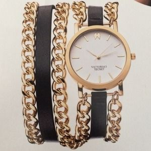 Victoria's Secret Watch - gold/black
