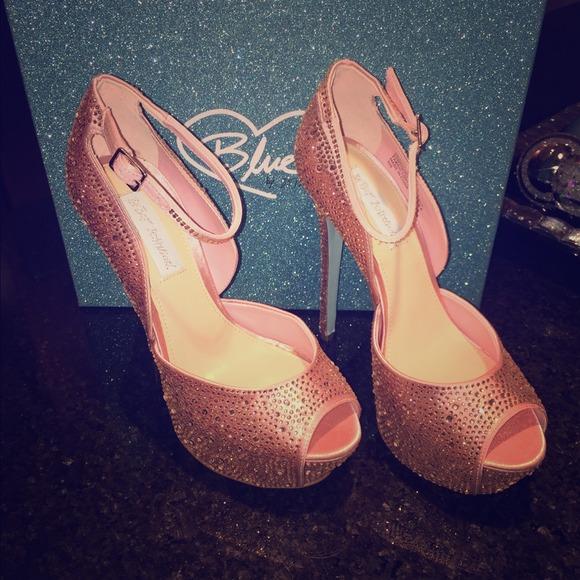 Betsey Johnson Shoes | Pink Kiss Platform Wedding Shoe | Poshmark