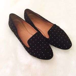 Madewell Teddy Loafer in studded suede