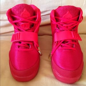Nike Shoes - Nike Air Yeezy 2 Red October size 9.5