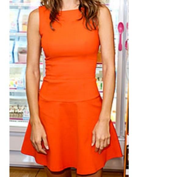 adaed3e8 Zara Dresses | Orange Dress Size M New With Tag Attached | Poshmark