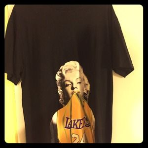 promo code 6362c 981be Tops | Marilyn Monroe With Kobe Bryants Jersey | Poshmark