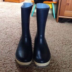 Sperry Top-Sider Navy Rain Boots