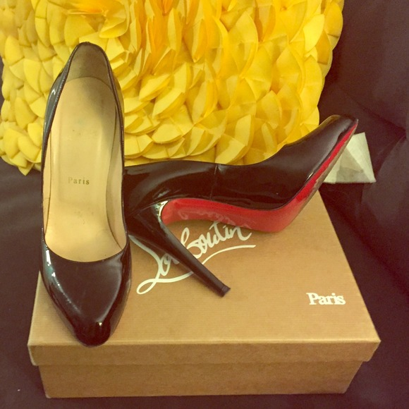 Christian Louboutin Shoes - Christian Louboutin Décolleté 100 patent pumps