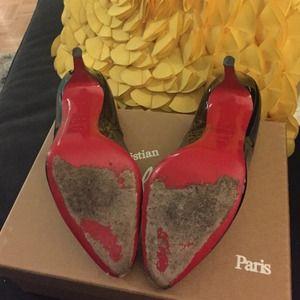Christian Louboutin Shoes - Christian Louboutin Décolleté 100 patent pumps