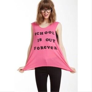 Wildfox Schools Out Tank