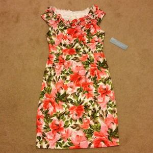 London Times Dresses & Skirts - London Times Petites floral dress NWT