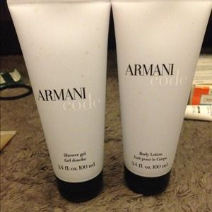 Armani Exchange Other - Womens Amani Code lotion and bath gel