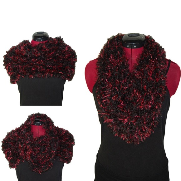37 Off Boutique Accessories Nwt Multi Way Fuzzy Tube