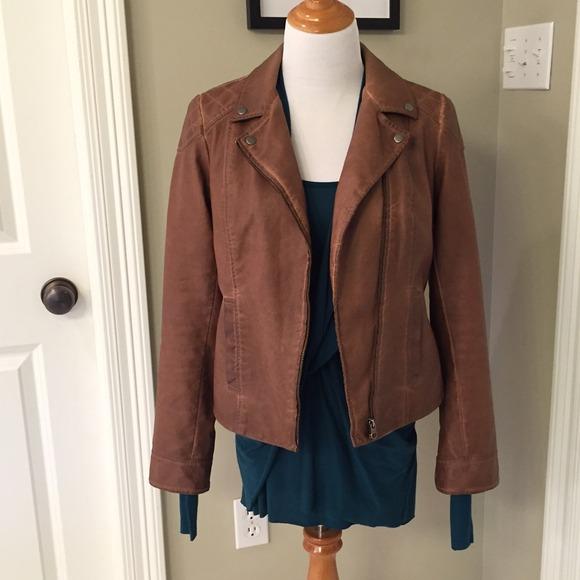 7d12feb0d1a7b4 Anthropologie Jackets   Blazers - Anthro Cartonnier Fayette vegan leather  jacket