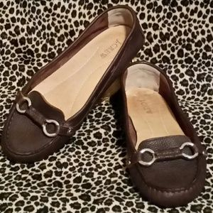 J.Crew - Brown Leather Driving Mocs