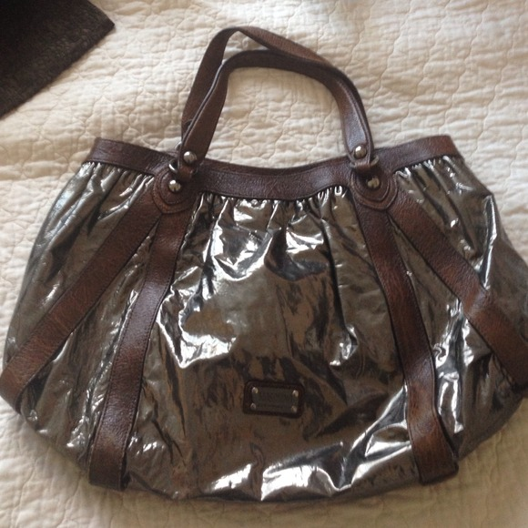 4747e788c86 Moschino Bags | Cheap And Chic Bronze Brown Leather Bag | Poshmark