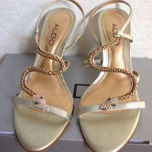 ALDO Shoes - ALDO Snake Heels SZ. 6