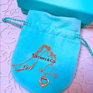 Authentic Tiffany & Co 18k Rose Gold Necklace