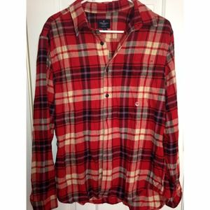 Brand New with Tags American Eagle Flannel Shirt
