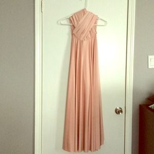 Two Birds Dresses & Skirts - Two Birds Pink Blush Gown