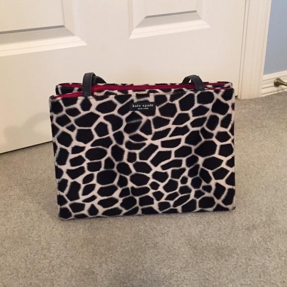 Kate Spade Handbags - Kate Spade animal print purse 22bc25e427