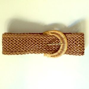 Urban Outfitters Accessories - Tan Braided Belt