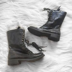 GUESS Army Boots