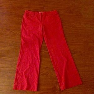 New York and Company Red Pants