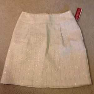 Gold sparkle skirt