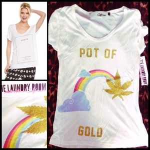 HOLD🔫THE LAUNDRY ROOM 🌈 POT of Gold. NWT
