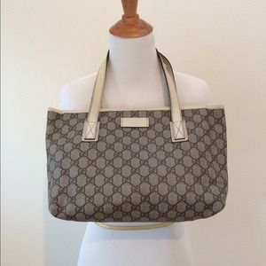 Gucci GG canvas travel shoulder bag small
