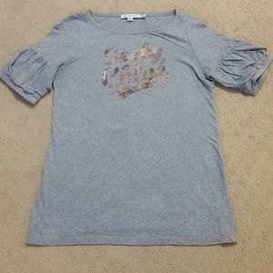 Women's See by Chloe gray t-shirt