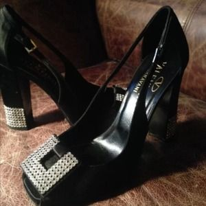 New  valentino garavani shoes 36.5 crystals heels