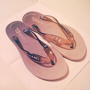 Authentic Chanel Sports Sandals Flip Flops