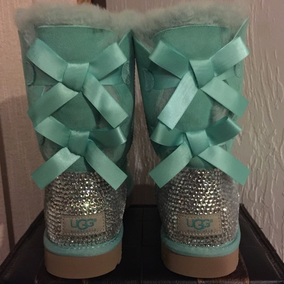 5cb1beadc38 Ugg Boots With Bows And Rhinestones - cheap watches mgc-gas.com