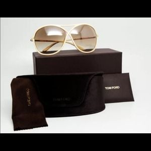BRAND NEW TOM FORD AVIATOR SUNGLASSES