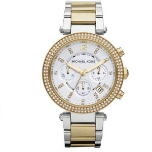 Michael Kors Two-Tone Parker Watch