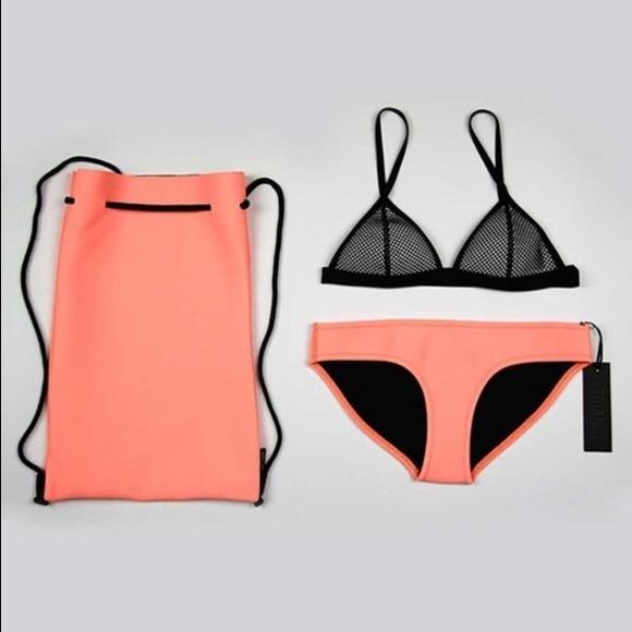 2f88a8a68c TRIANGL Swimwear Tilly Sunburst Neoprene Bag 💛🌸.  M 5485495f53bc250c822d16e0