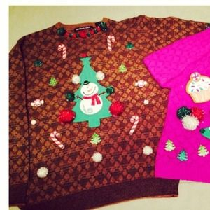 Ugly Christmas Sweater for Men or Women!