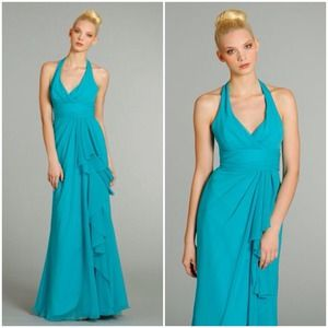 Caribbean Blue Party Dresses